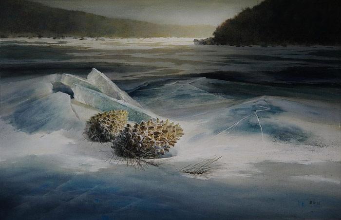巅峰水彩画——戴剑波风景作品欣赏